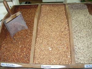 Bulk pea seeds